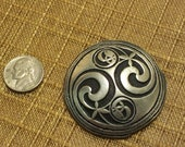 Pewter Abstract Pendant - Pewter - SJC designs - Made in Corwall