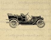 Printable Antique Car Image Download Vintage Automobile Graphic Digital Clip Art for Transfers Printing etc HQ 300dpi No.1149