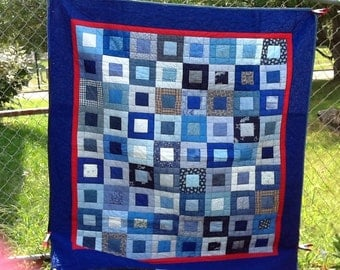 Its Ok to Be Square Quilt