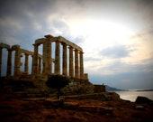 Temple of Poseidon 8X10 Photograph