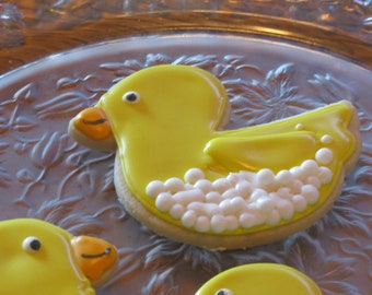 Rubber Ducky Cookies