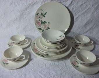 Vintage Knowles Dessert, Luncheon, Salad Plate