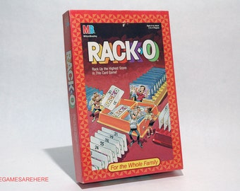 Racko Game from Milton Bradley 1987 COMPLETE (read description)