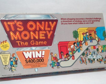 It's Only Money The Game 1987 with NEW PARTS COMPLETE