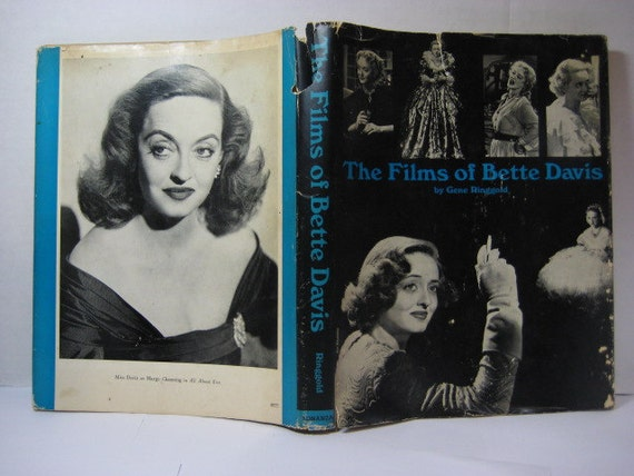 Bette Davis Movie Star Film Star Screen Star Famous Celebrity Career Book 1966 Film Career Screen Movies Actors Credits Critics Synopsis