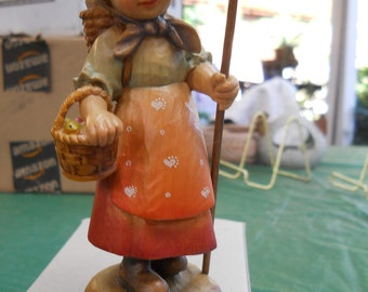 """6"""" Anri Woodcarving """"To Market"""" no. 578/2250"""