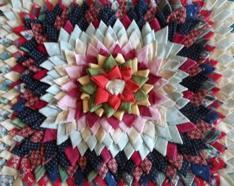 Vintage Quilted square
