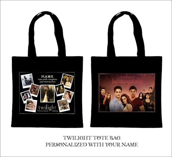 Twilight Breaking Dawn Tote Bag with Long Handles