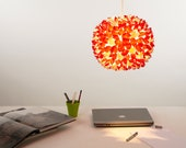 Apricot Burst Hanging Paper Lampshade Pendant Light Shade (GG012)