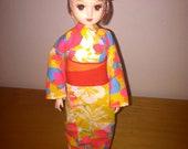 Takara Japanese Jenny Doll- Traditional Kimono Licca