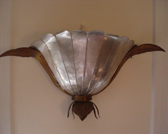 Vintage Authentic Theatre Sconce From Santa Monica California Lowest Price!