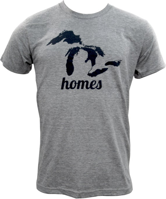 UGP - Great Lakes HOMES- Unisex T Shirt - Athletic Gray