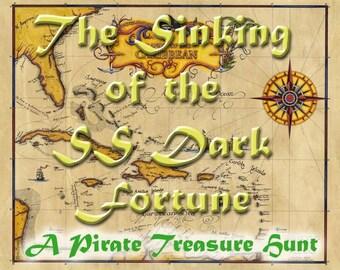 Pirate Themed Treasure Hunt