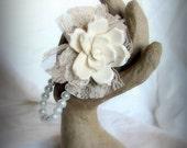 Gardenia Wristlet Corsage
