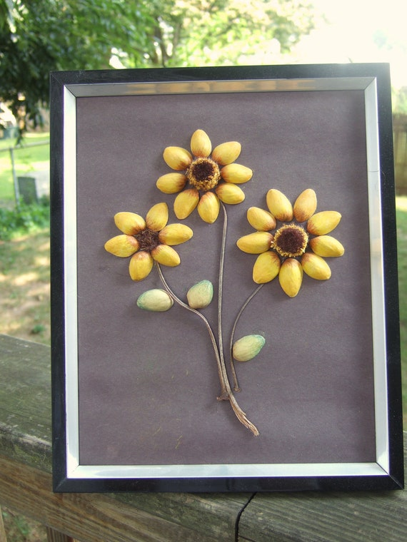 craft ideas with pista shells sunflower pistachio 6340