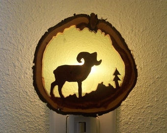 Bighorn Sheep nightlight
