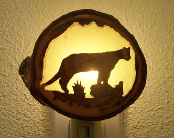 Mountain Lion nightlight