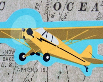 Piper Cub - Vinyl Sticker