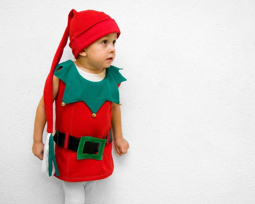 Christmas Elf Costume 4T Santa's Little Helper Dwarf