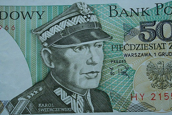 1988 Poland.Paper Currency, 50 zlotych