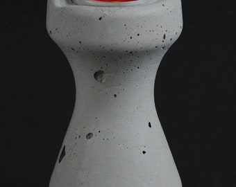Cement Candle Holder, Future Relic #7