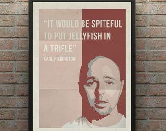 Karl Pilkington Poster