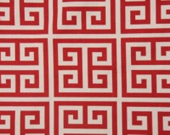 One Yard Towers in Red 100% Cotton