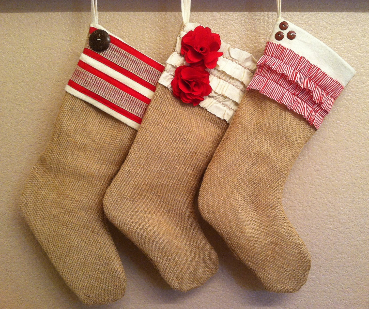 Christmas Stocking Design Ideas 15 diy christmas stockings how to make christmas stockings craft ideas womans day Like This Item