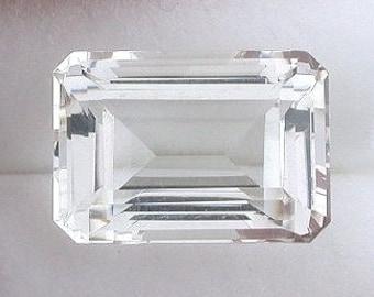 14x10 emerald cut topaz gem stone gemstone