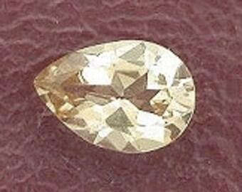 7x5 pear champagne topaz gem stone gemstone 7mm x 5mm