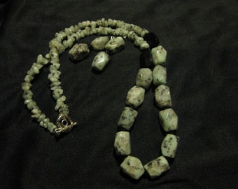 Sesame Jasper Necklace Set
