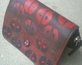 Deadpool Hand Painted Wallet
