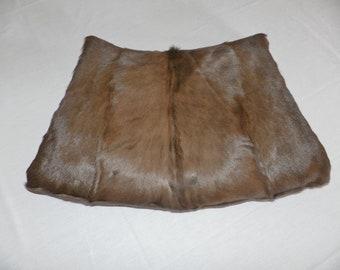 Reduced-Fur Muff Handwarmer Vintage Womens Estate Find