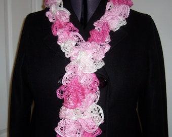 Frilly scarfs