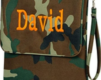 Camo Ipad Case with free embroidery