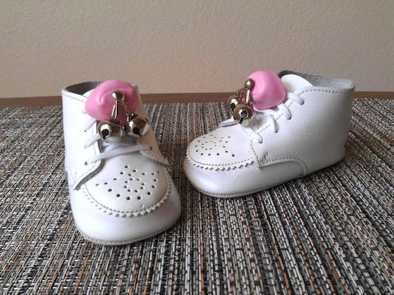 Reserved Becker Baby Toddler Shoe Bells Pink