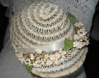 Hat from the 1930s the ultimate bonnet