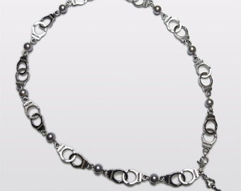 Fifty Shades of Grey inspired Handcuff Necklace.