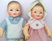 Horseman twin dolls
