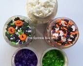Cupcake Sprinkles - Fright Night Sprinkle Set