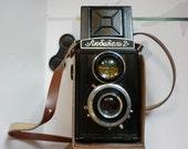 Beautiful vintage Lubitel 2 camera, Russia, 1960s