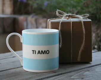 Ti Amo Hoop Mug