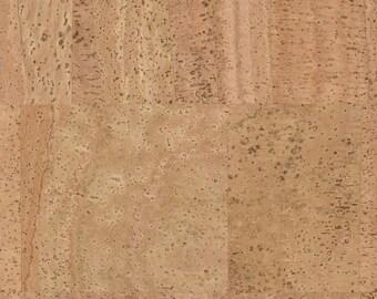 Cork Fabric Natural Pattern