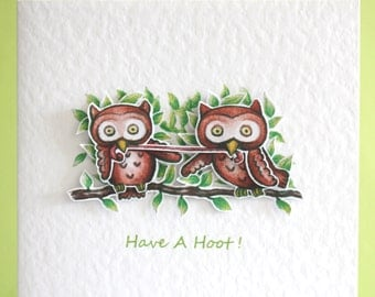 Owl Card - Have A Hoot