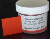 Traffic Orange Powder Paint