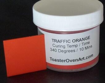 Traffic Orange Powder Paint