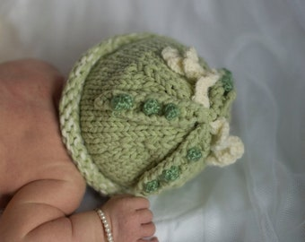 Sweet Pea Hat for Baby