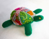 Pin Cushion or Cuddly Turtle