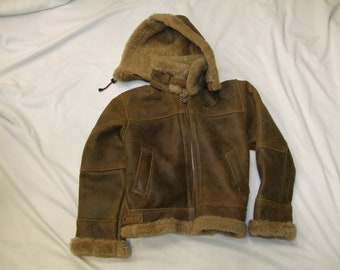 KIDS SHEARLING JACKET