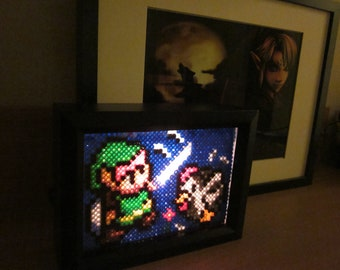 Zelda Link Light Box